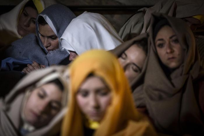 В Риме прошла Via Crucis «За распятых женщин»
