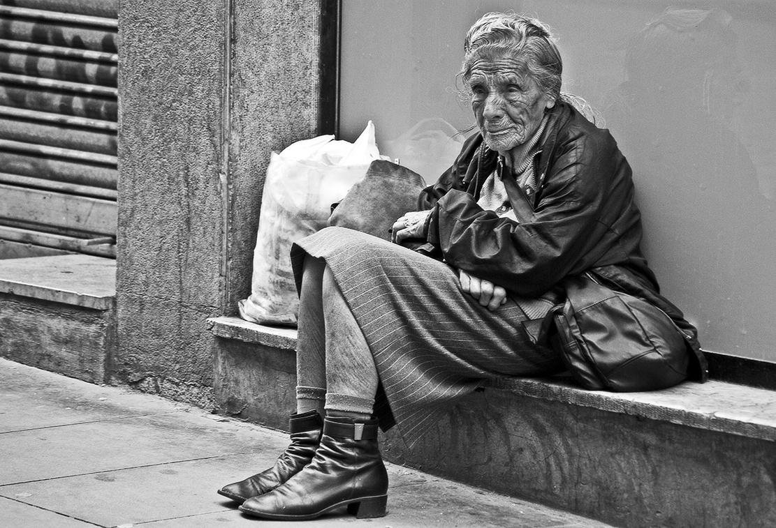 Нищие и бездомные – неудача Бога?