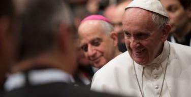 Папа встретился с римскими настоятелями