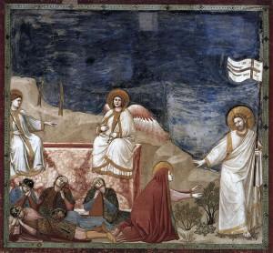 Джотто. Воскресение Христово