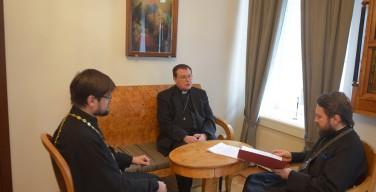 Митрополит Павел Пецци встретился главой ОВЦС МП
