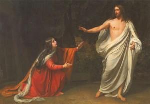 Иисус является Марии Магдалине