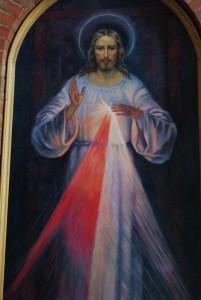 Образ Иисуса Милосердного в Кафедральном соборе Новосибирска