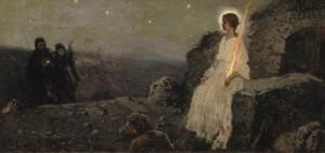 Мироносицы и ангел