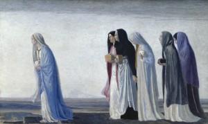 Жены-мироносицы, идущие ко гробу