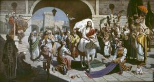 Нестеренко. Вход Господень в Иерусалим