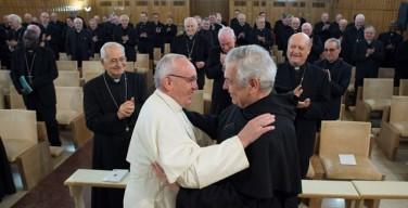 Радость — постоянный атрибут веры. Последний день духовных упражнений для Папы и Римской Курии