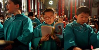 В Китае на Пасху примут крещение более 3 тысяч человек