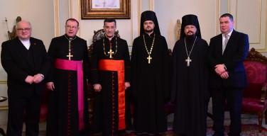 Архиепископ Павел Пецци посетил Сирию в составе экуменической делегации