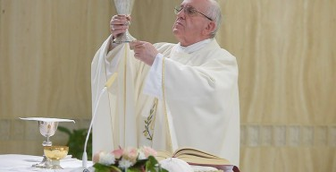 Папа: Церковь идёт вперёд благодаря святым и мученикам