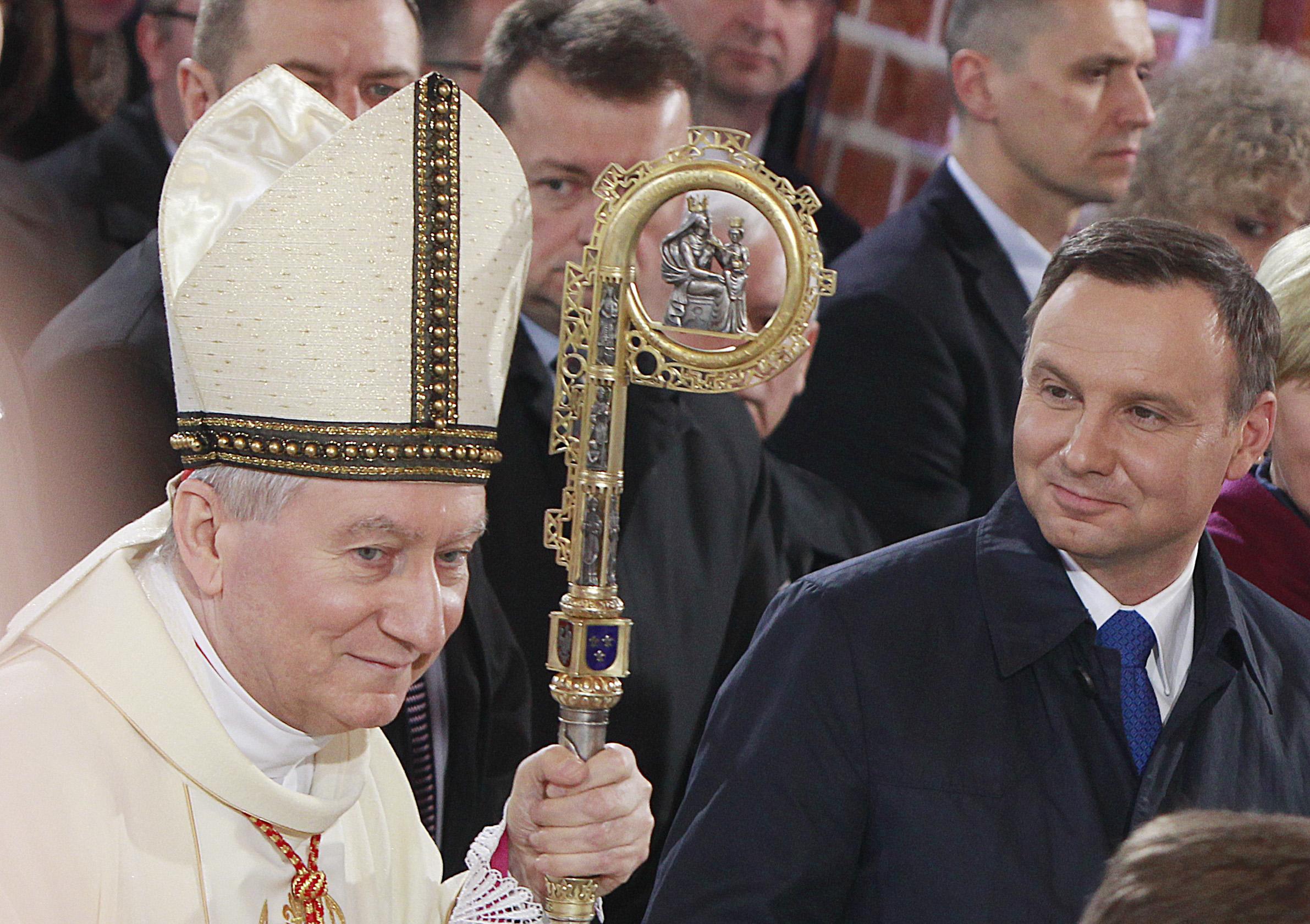 Кардинал Паролин: Церковь в Польше всегда была светом во тьме, пытающейся покрыть Европу