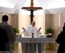 Папа: христианин не может не возвещать Христа