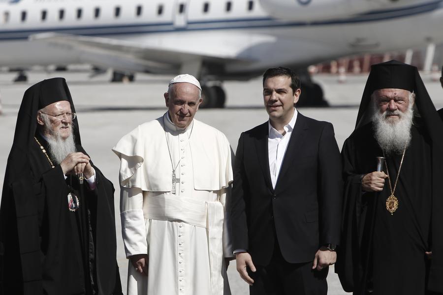Папа Франциск, Патриарх Варфоломей и Архиепископ Иероним подписали совместную декларацию
