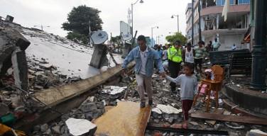 Папа выразил сочувствие жертвам землетрясения в Эквадоре