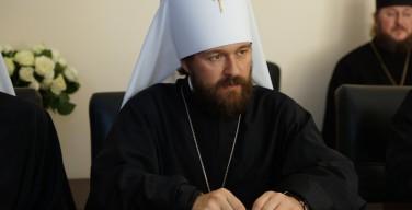 Критики встречи Папы и Патриарха хотят загнать Церковь в раскол и изоляцию — митрополит Иларион