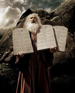 Моисей и скрижали