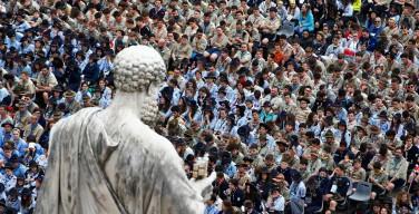 Regina Cæli 24 апреля. Новый призыв Папы: освободите всех похищенных в Сирии и во всем мире