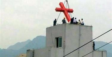 В Китае при сносе храма рабочие заживо похоронили женщину