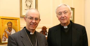 Великобритания: кардинал Николс и примас Уэлби вместе на Facebook