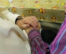 Папа совершил незапланированный визит в римскую общину «Зёрнышко»