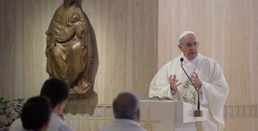 Папа: нельзя замыкаться в системе правил