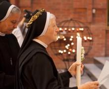 Сестра Аделя Пекутовска, CSSE, отметила 60-летие своих монашеских обетов