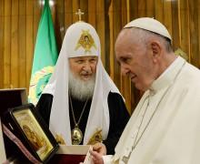 РПЦ дезавуирует слухи о приезде Папы Римского на закладку собора в Казань