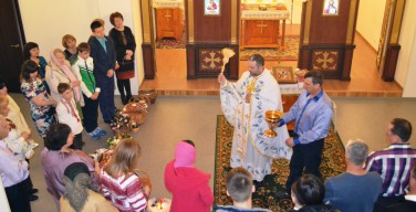 Пасха в греко-католических приходах Севера России