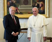 Папа и президент Швейцарии обсудили вопросы миграции и безработицы