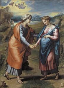 Рафаэль. Посещение Марией Елизаветы