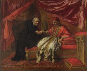 Св. Филипп Нери исцеляет Папу Климента VIII