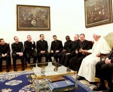 Папа встретился с будущими ватиканскими дипломатами