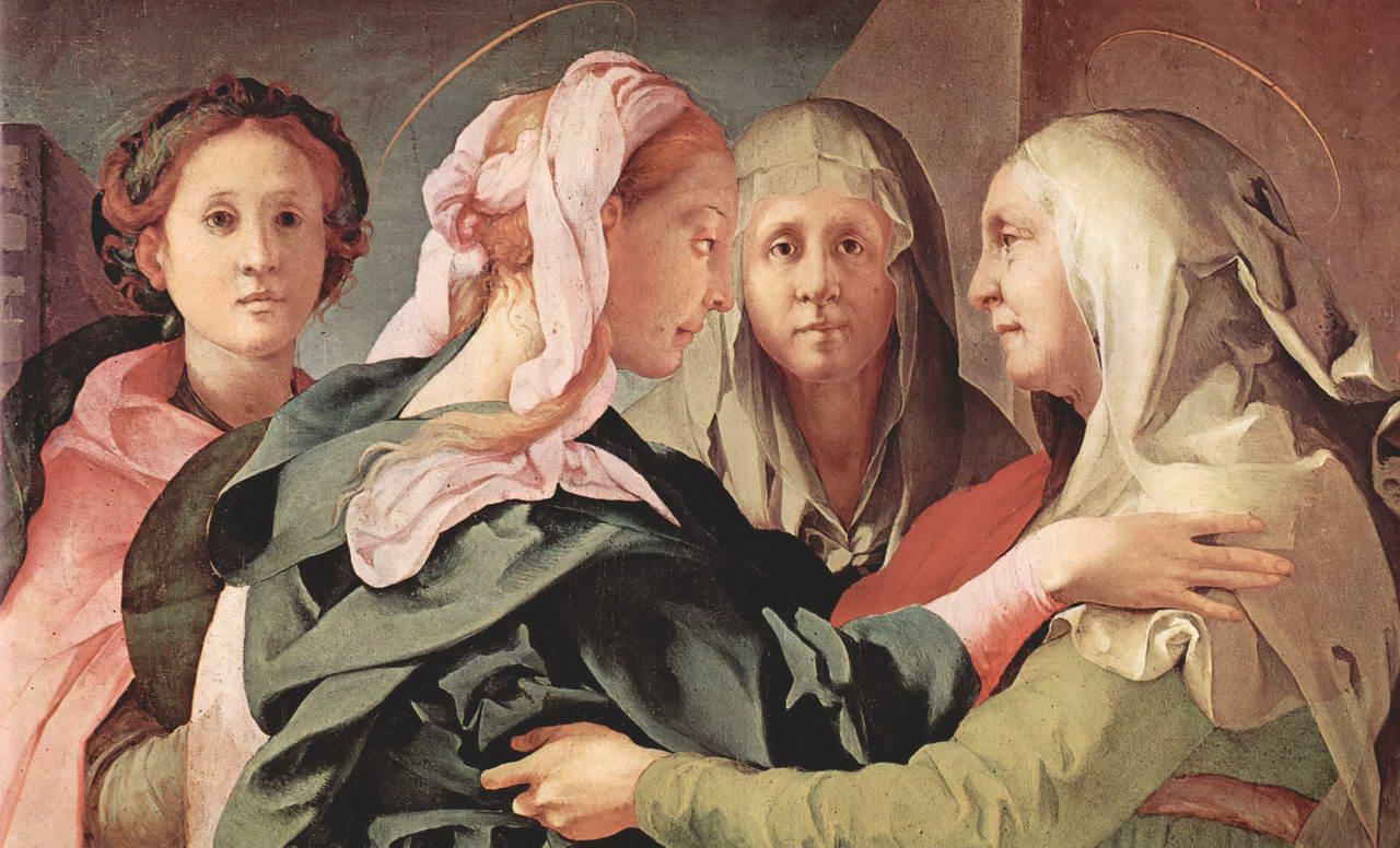 31 мая. Посещение Пресвятой Девой Марией Елизаветы. Праздник