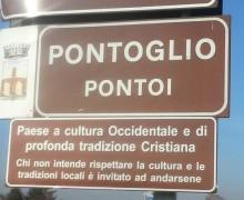 В Италии велели убрать дорожные указатели, призывающие уважать христианские ценности