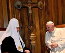 Митр. Иларион: встреча Папы Франциска и Патриарха Кирилла обнадежила гонимых христиан