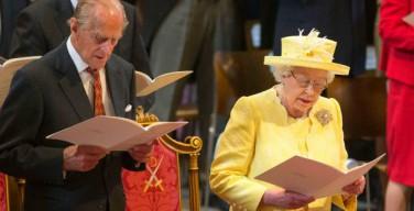 С благодарственного молебна в соборе Святого Павла в Британии начались трехдневные официальные торжества по случаю юбилея королевы Елизаветы II