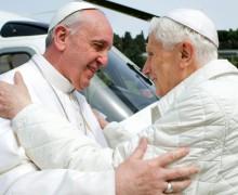 Бенедикт XVI отпразднует 65 лет священства вместе с Папой Франциском