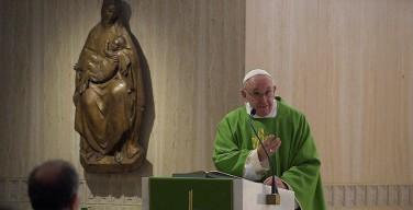 Папа: батарейка для света христианина — его молитва