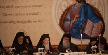 Всеправославный собор: Патриарх Варфоломей поблагодарил Папу Франциска