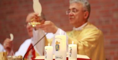 Торжество по случаю 25-летия хиротонии монсеньора Иосифа Верта (ВИДЕО)