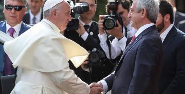«Католическая Церковь рада предложить свой вклад». Обращение Папы Франциска к представителям армянского общества