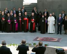 Папа Франциск воздал дань памяти жертвам Мец Егерн в Цицернакаберде