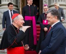 Встреча Государственного секретаря Святейшего Престола с президентом Украины