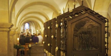 В Бонне вандал осквернил раку с мощами святых мучеников Кассиуса и Флорентиуса, покровителей города