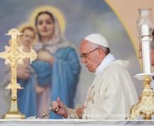 Папа Франциск на Святой Мессе в Гюмри