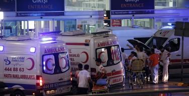 43 человека погибли, 147 получили ранения в результате взрывов в аэропорту Стамбула