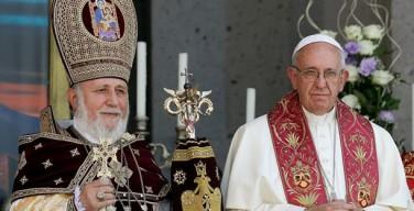 Папа: «Пусть Армянская Церковь шествует в мире, и общение между нами да будет полным и реальным»