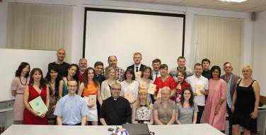 Выпуск-2016 в Институте святого Фомы