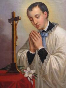 Юный иезуит Алоизий Гонзага