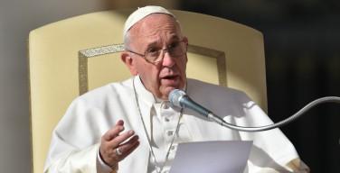 Папа: смертная казнь неприемлема, она не вершит правосудия